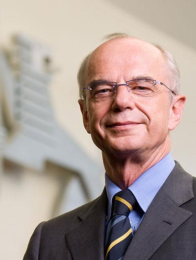 Bürgerschaftspräsident Christian Weber